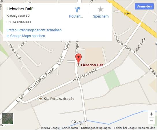 Rechtsanwalt-Ralf-Liebscher-GoogleMaps